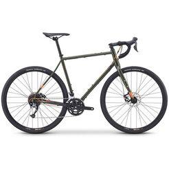 fuji bikes gravelbike »jari 2.3«, 18 versnellingen, shimano alivio-schakelsysteem, derailleur groen