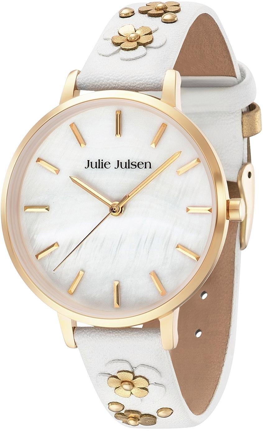 Julie Julsen kwartshorloge »Pearl Gold Blossom, JJW103YGL-9B« - gratis ruilen op otto.nl