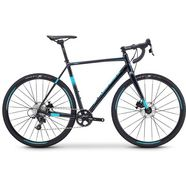 fuji bikes crossbike »cross 1.3«, 11 versnellingen, sram apex 1-schakelsysteem, derailleur zwart