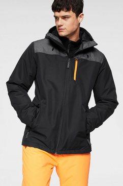 brunotti ski-jack »gibson s« zwart