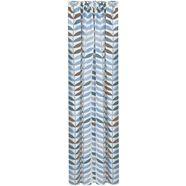 gordijn, »frederick«, feel of nature, rimpelband per stuk blauw