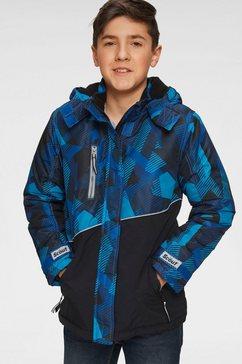 scout ski-jack blauw