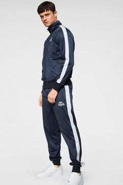 lonsdale trainingspak trainingsuit pember (set, 2-delig) blauw