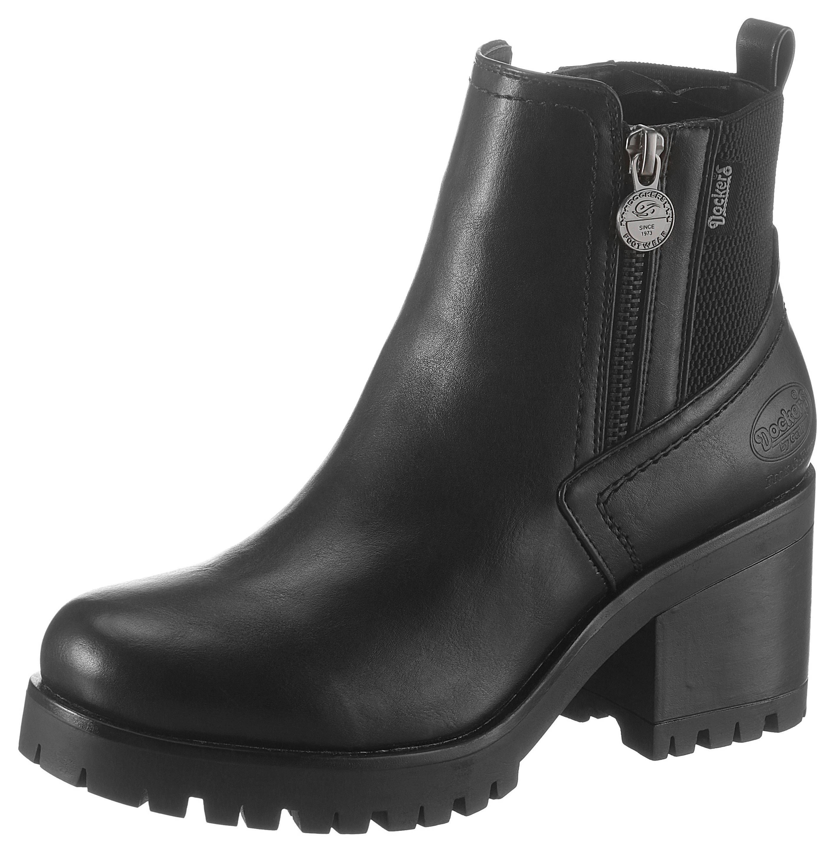 Dockers by Gerli Chelsea-boots met stretchinzet nu online kopen bij OTTO
