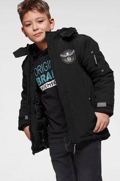 chiemsee ski-jack met afneembare capuchon en reflecterende details zwart