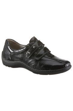 waldlaeufer klittenbandschoenen »henni« zwart
