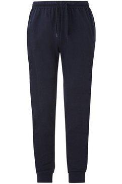 fruit of the loom sweatbroek »lightweight cuffed jog pants« blauw