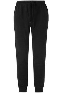fruit of the loom sweatbroek »lightweight cuffed jog pants« zwart