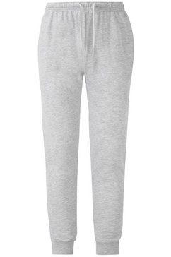 fruit of the loom sweatbroek »lightweight cuffed jog pants« grijs