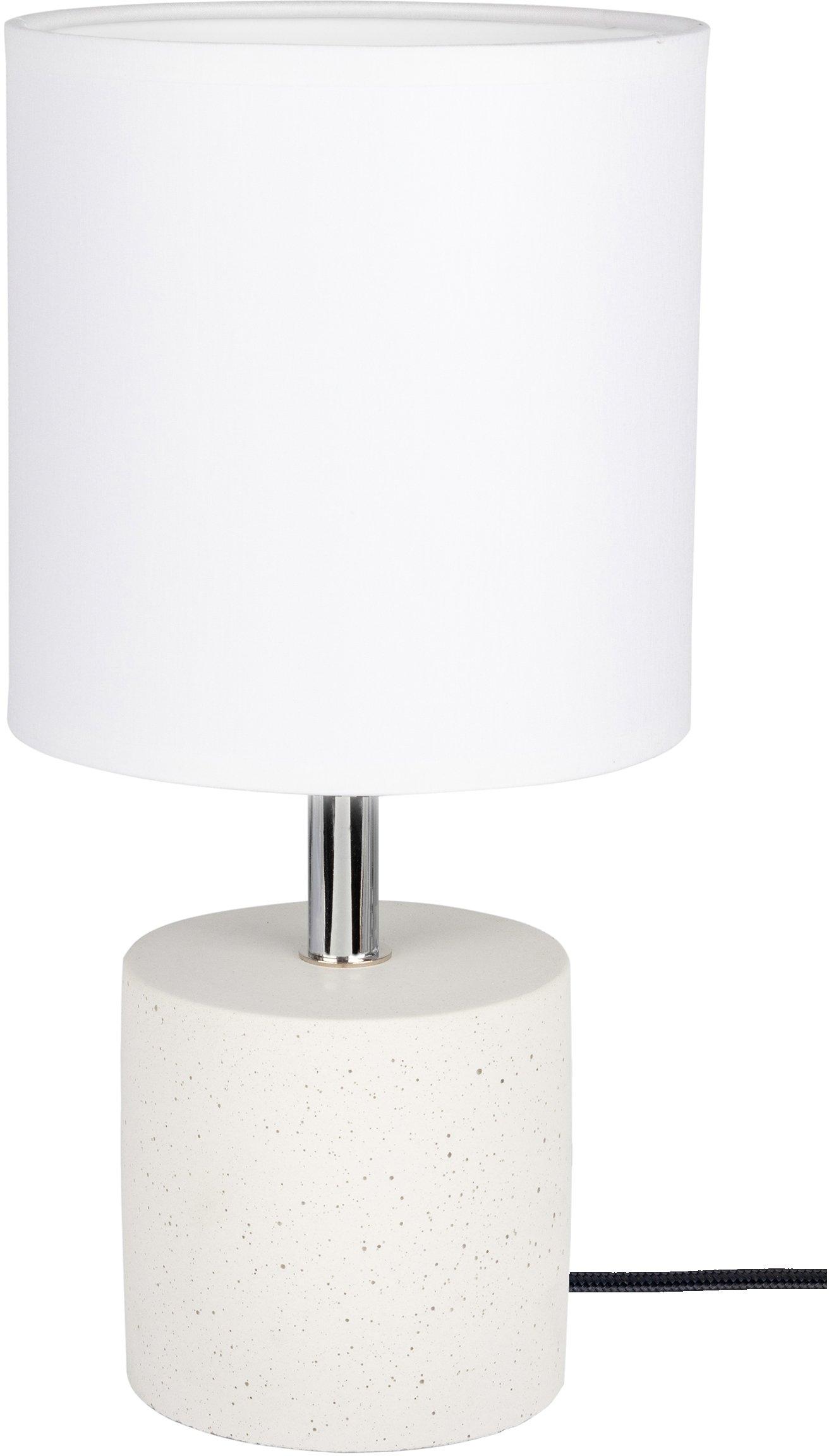 SPOT Light Tafellamp Strong Echt beton - met de hand gemaakt, natuurproduct - duurzaam, lampenkap van stof, Made in Europe (1 stuk) - gratis ruilen op otto.nl