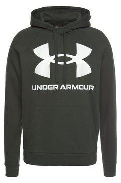 under armour hoodie »ua rival fleece big logo hd« groen