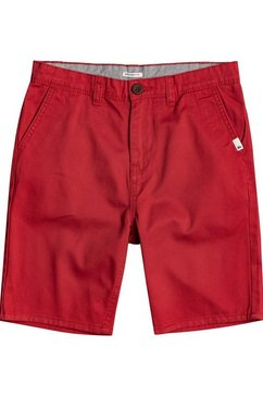 quiksilver chino-short everyday rood