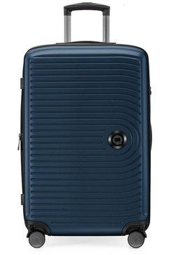 hauptstadtkoffer harde trolley 'middel, donkerblauw, 68 cm', 4 wieltjes blauw