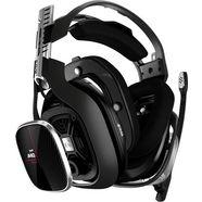 astro »a40 tr headset + mixamp pro tr -nieuw- (xbox one, pc, mac)« gamingheadset (met snoer) rot|schwarz