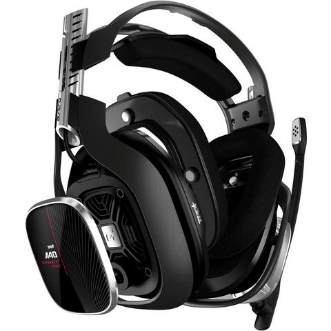 Astro Gaming A40 TR + MixAmp Pro Gaming headset 3.5 mm jackplug, USB Kabelgebonden Over Ear Zwart, R