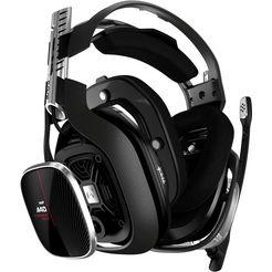 astro »a40 tr headset + mixamp pro tr -nieuw- (xbox one, pc, mac)« gamingheadset (met snoer) schwarz|rot