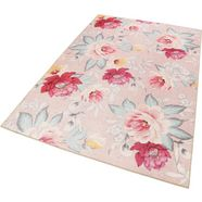 accessorize home vloerkleed isla in bloemmotief woonkamer roze