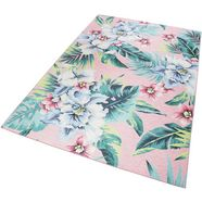 accessorize home vloerkleed tropical orchid woonkamer roze