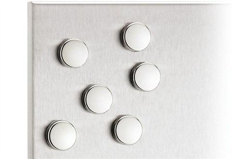 Blomus magnetenset 6 stuks voor magneetborden Muro