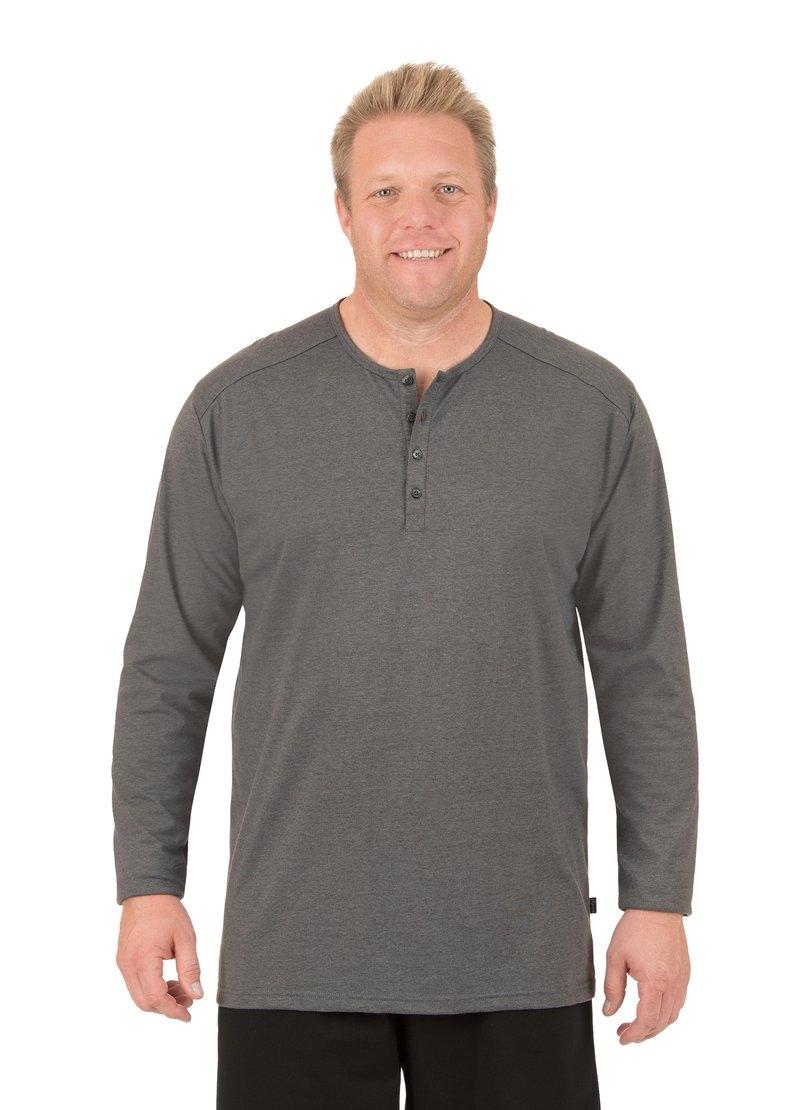 Trigema shirt met lange mouwen met knoopsluiting veilig op otto.nl kopen