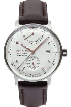iron annie automatisch horloge »bauhaus, 5066-4« bruin