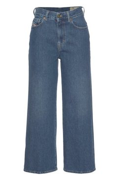 diesel straight jeans »widee« blauw
