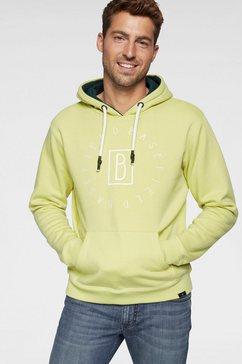 basefield hoodie geel