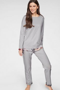 triumph pyjama grau