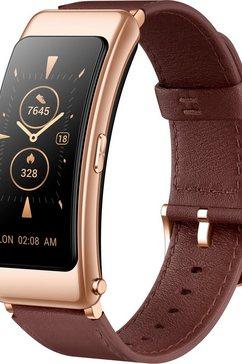 huawei »huawei talkband b6 classic« smartwatch zilver