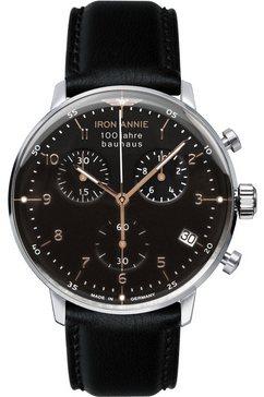 iron annie chronograaf »bauhaus, 5096-2« zwart