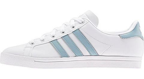 adidas originals Coast Star J sneakers wit-zilver