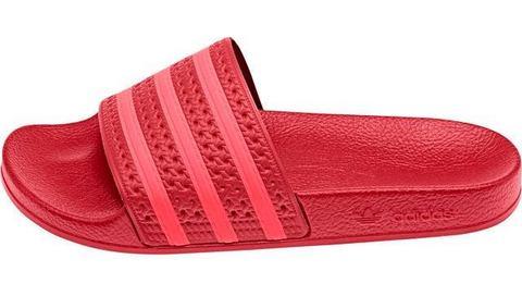 adidas originals adilette badslippers rood-roze