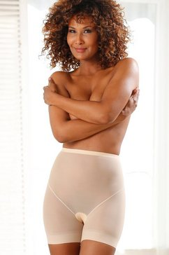 magic bodyfashion modellerende broek »lite short« beige