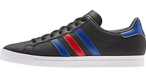 adidas originals Coast Star J sneakers zwart-blauw-rood