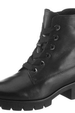 gabor veterlaarsjes met best fitting-comfort zwart