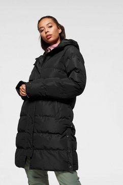 brunotti doorgestikte jas »gadwell« zwart