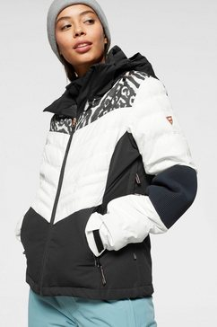 brunotti ski-jack »coronet« zwart