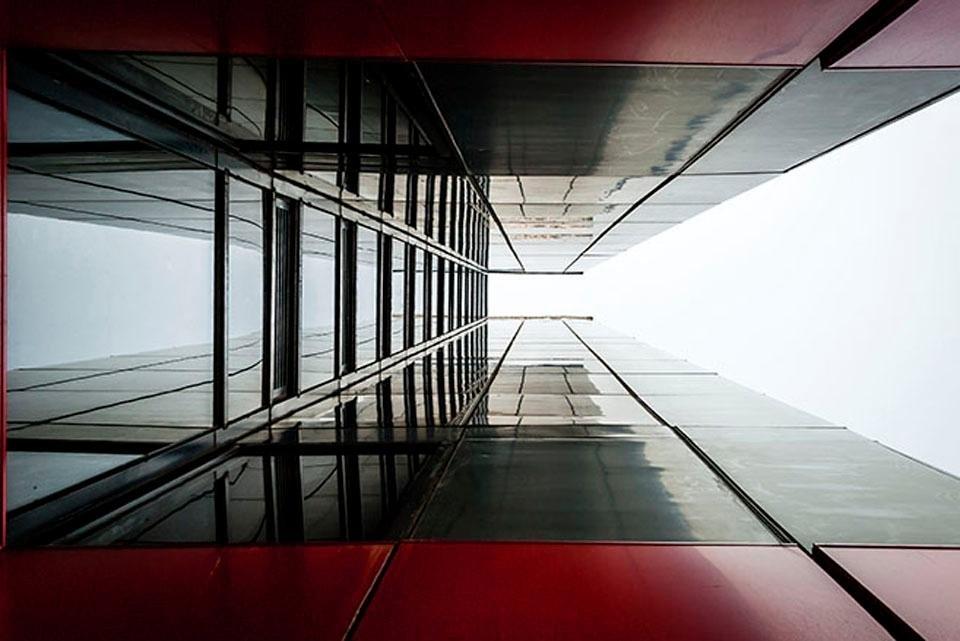 Places of Style artprint op acrylglas Flatgebouw bestellen: 30 dagen bedenktijd