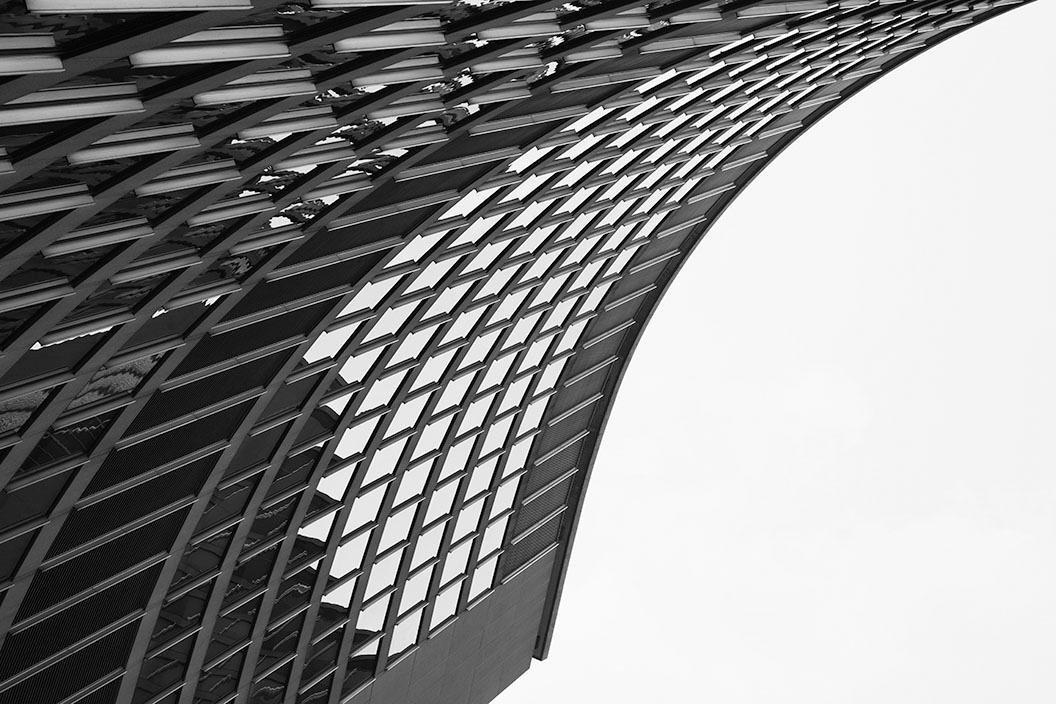 Places of Style artprint op acrylglas Flatgebouw veilig op otto.nl kopen