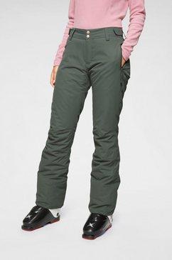 brunotti skibroek »sarah s« groen