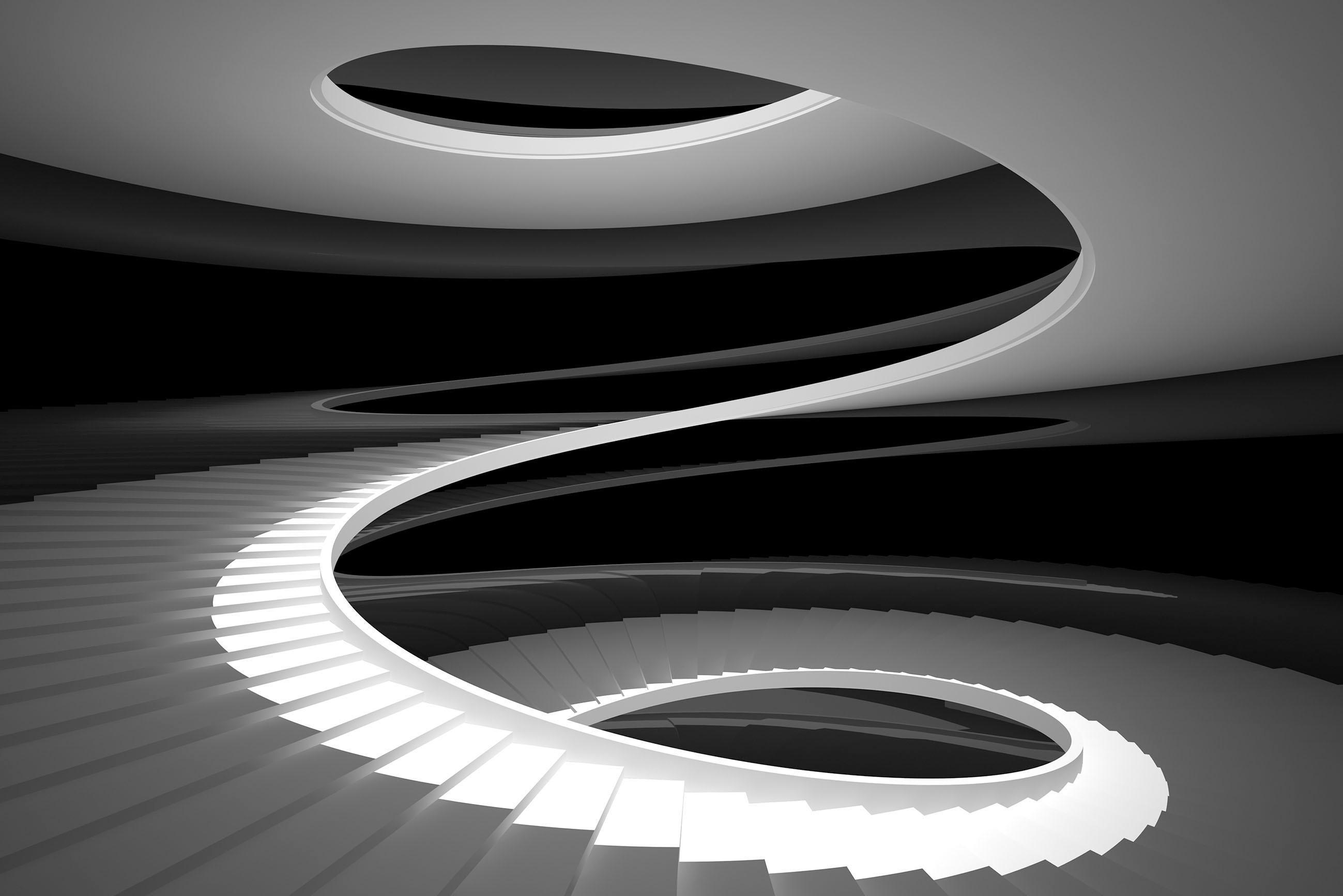 Places of Style artprint op acrylglas Wenteltrap online kopen op otto.nl