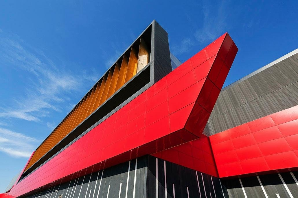 Places of Style artprint op acrylglas Modern gebouw - gratis ruilen op otto.nl