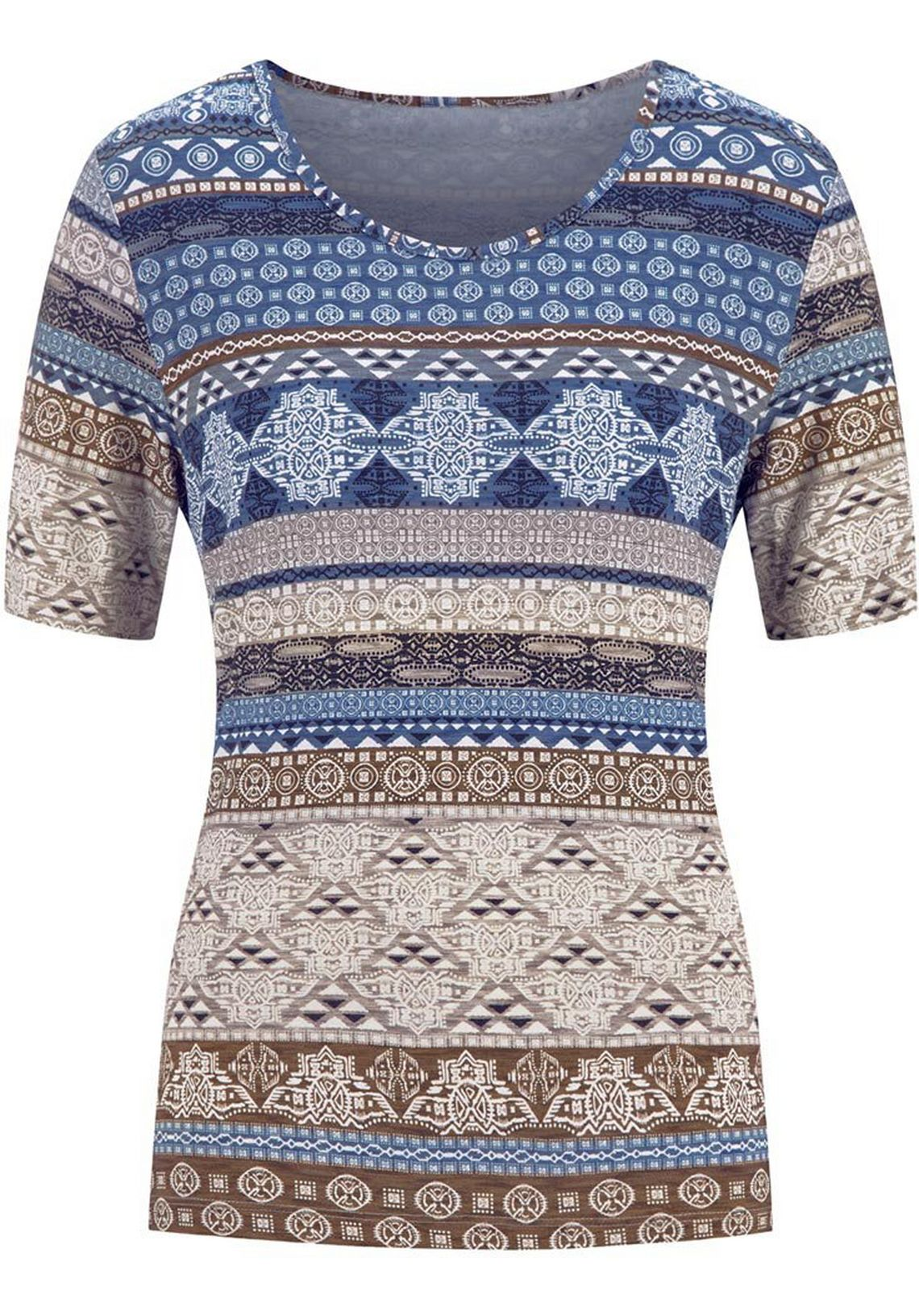 Casual Looks Shirt Met Vlotte Strepen Nu Online Kopen Marine Gedessineerd U4FnBqIi