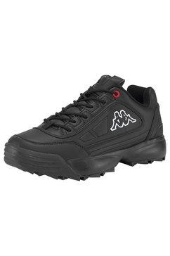 kappa sneakers »rave nc« zwart
