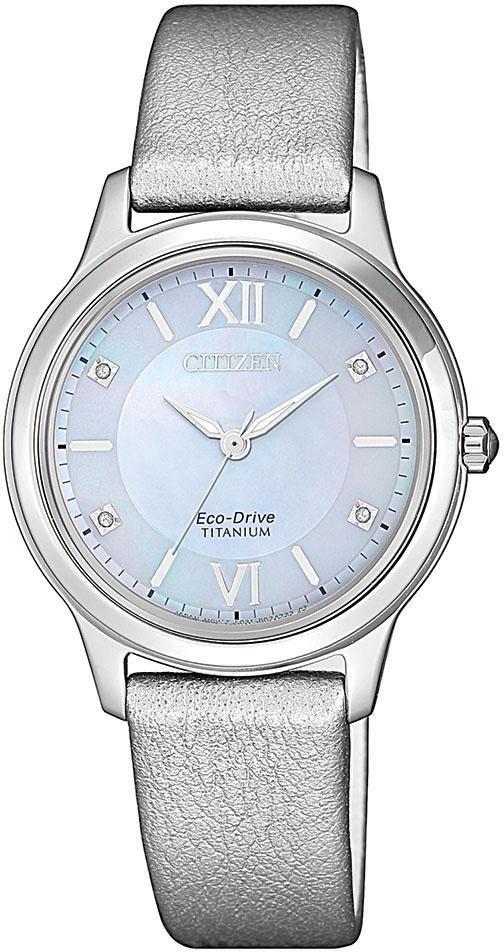 Citizen solar-horloge »Titanium, EM0720-18D« voordelig en veilig online kopen