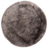 vloerkleed, »my samba 495«, obsession, rond, hoogte 40 mm, machinaal geweven grijs