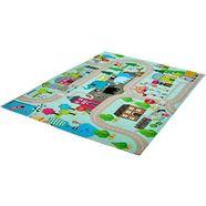 vloerkleed, »my torino kids 231«, obsession, rechthoekig, hoogte 10 mm, machinaal geweven multicolor