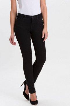 cross jeans skinny fit jeans »alan« zwart