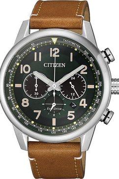 citizen chronograaf »ca4420-21x« bruin
