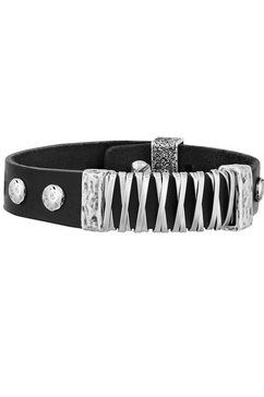 seven-24 armband »rebel soul, svrs02-bl17« zwart